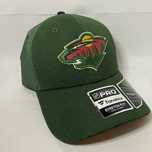 "FANATICS Authentic Pro NHL ""MINNESOTA WILD"" - Stretch Fit Hat"