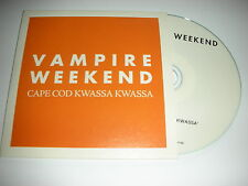 Vampire Weekend - Cape Cod Kwassa Kwassa - Single track