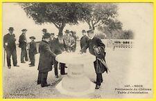 cpa 06 - NICE (Alpes Maritimes) La TABLE d' ORIENTATION TOURING CLUB Dos 1900