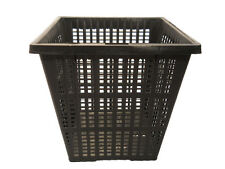 """4"""" Square Pond Plant Basket x 3 pcs Value Pack Allows Great Water Flow"""