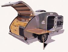 Teardrop Tear Drop Plans Camper Trailer RV Pop-Up Caravan How to Build Your Own