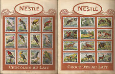 CIOCCOLATO _ NESTLE - CHOCOLATS AU LAIT _ FIGURINE _ serie Perroquets e Animaux