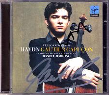 Gautier CAPUCON, Daniel HARDING Signiert HAYDN 3 Cello Concerto CD Cellokonzerte