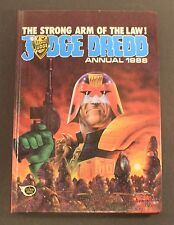 1988 Fleetway JUDGE DREDD Annual - Hardcover UK exclusive book FAIR to GD cond.
