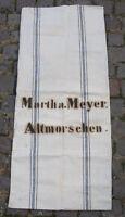 Antiker Leinen Sack Mehlsack Bauernleinen Getreidesack - antique linen sack