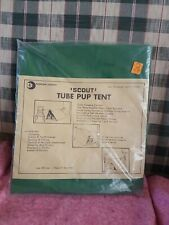 Scout Tube Pup Tent Never Used Style 2001