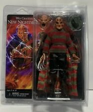 "Sealed NECA Nightmare on Elm Street  8"" Clothed Demon Freddy Krueger Wes Craven"