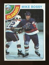 1978-79 Topps MIKE BOSSY Rookie #115 Hockey Card Nm-Mt