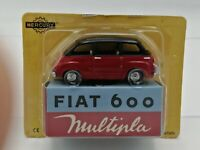 Ex Mag  Fiat 600 Multipla Mercury Hachette - 1/48 Scale with carded box
