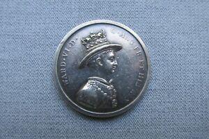 Christ's Hospital School -- Silver Marker's Medal -- Stephen Thos. Penny -- 1872