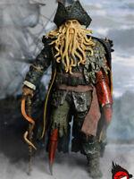 In-Stock 1/6 Scale XD TOYS XD001 Octopus Captain Davy Jones 12'' figure lover