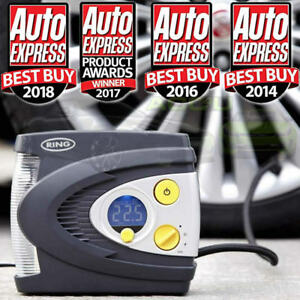 Ring RAC635 12v Preset Automatic Digital Car Tyre Air Compressor Inflator Pump