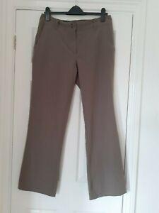ROHAN CROSSOVERS Coffee Ladies UK 12 R Trousers, Walking, Multiflex Light, Cool