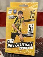 2017 Panini Revolution Soccer EXCLUSIVE Sealed Hanger Box- (PULSIC RC YEAR) 📈