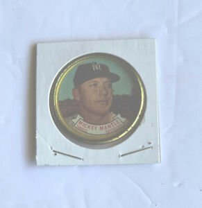 Topps Mickey Mantle Coin MLB Baseball 1964 Vintage New York Yankees