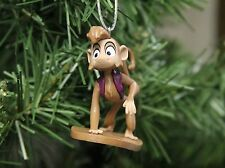 "Disney Aladdin Abu Monkey PVC Figure Holiday Christmas Tree Ornament 2"" Figurine"
