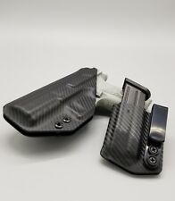 CZ P10 + MAG POUCH! Black Fiber Carbon Kydex IWB Holster Veteran Made USA