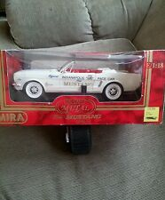 Mira Spain, 1964 1/2 Ford Mustang, Indianapolis 500 Pace Car - White, Box. RARE!