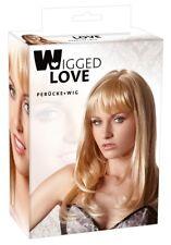 Wigged Love Perruque Linda blonde long env 45 cm NEUF/emballé