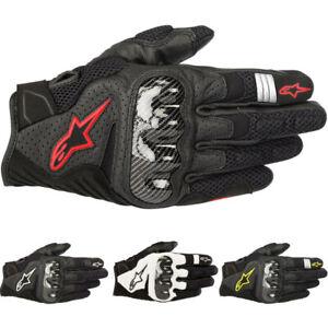Alpinestars SMX-1 Air V2 Leather Mens Street Riding Cruising Motorcycle Gloves