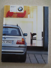Original 2002 BMW 3 series sport wagon automobile advertising booklet