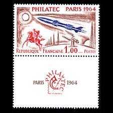 """France 1964 - """"PHILATEC"""" Exhibition - Paris 1964 Space - Sc 1100 MNH"""