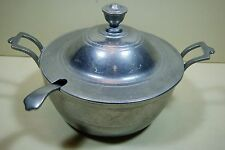 Wilton Armetale Tureen with Lid and Ladle in Plough Tavern