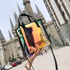 Transparent Hologram Shoulder Women Bag Clear Laser Handbag Holographic Purse