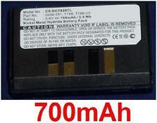 Batterie 700mAh Pour Dancall Dect 8400, 8500, 8600 type 0458.081 T198-U1