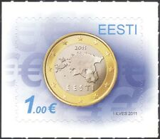 Estonia 2011 Euro Currency/Coins/Money/Commerce/Business 1v s/a (ee1204)