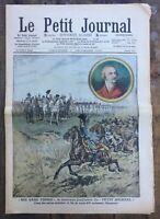 Le Petit Journal N°889 du 1/12/1907 - Le Fils de Louis XVI acclamant l'Empereur