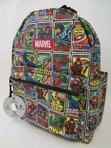 MARVEL Comics Avengers, Defenders, Black Panther - Backpack Laptop Sleeve