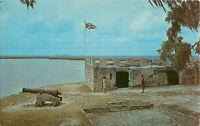 Postcard Fort Frederica Simons Island Georgia USA