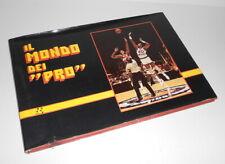 IL MONDO DEI PRO - BASKET - BASKETBALL1983 Forte ed. italy rare book - libro