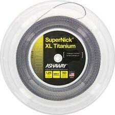 Ashaway Supernick Xl Titanium Squash Racket String - 110m Reel