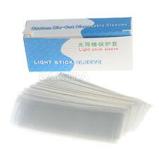 5 Boxes Dental Plastic LED Curing Light Stick Guide Sleeve 18*67MM 200pcs/box