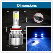Ultra Bright H8 H9 H11COB LED headlight Kit 110W 8000K Low beam bulbs 26000LM
