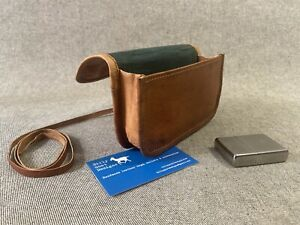 Leather Tobacco Pouch Wallet WTP 50gm Simple Handmade Billy Goat Designs