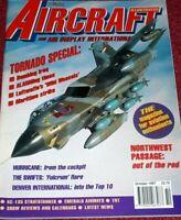 Aircraft Illustrated Magazine 1997 October Tornado,Hurricane,Northwest,KC-135
