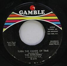 Hear! Northern Soul 45 The Intruders - Turn The Hands Of Time / Cowboys To Girls