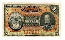 Colombia ... P-234a ... 1Peso ... 1895 ... *Ch VF* ... SERIE Z