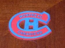 MONTREAL CANADIENS Vintage Old NHL RUBBER Hockey FRIDGE MAGNET Standings Board