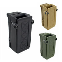 Universal Single Magazine Holster Dual Stack Mag Pouch with Belt Loop Fits 9mm