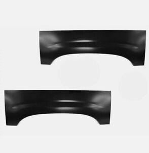 Wheel Arch Repair Panel Upper Rear Pair Set of 2 for Chevy Silverado GMC Sierra