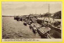 cpa INDIA PORTUGUEZA Port de NOVA GÔA Harbor View of FERRY STEAMER PIER, PANGIM