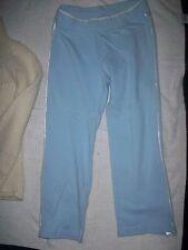 Nike Women Sportswear Athletic Pants Baby Sky Blue Size 8P