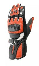 Nitro NG101 Leather Racing Gloves Black And Red Size XXL