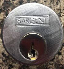 Sargent Mortice Cylinder With Two Keys And Frame