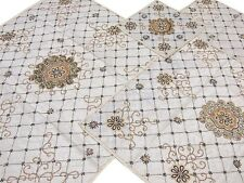 Designer Table Top Linens Set 5P Accessories Fine Luxury Handmade Tablecloths