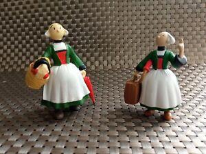 2 figurines Bécassine 1995-2002 T.B.E